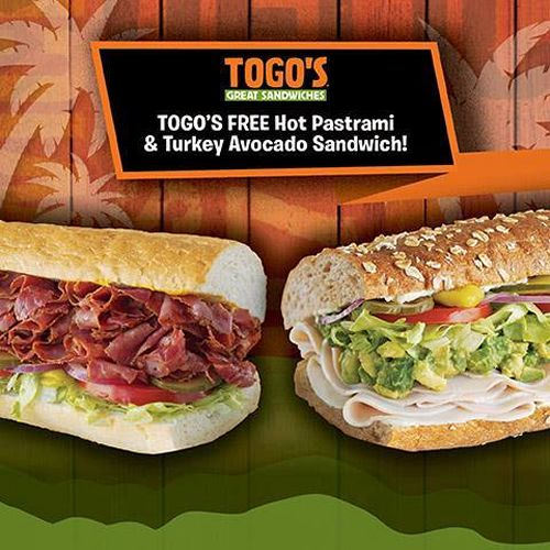 Togo's Opens in Atwater, CA With 1,000 Free Hot Pastrami or Turkey and Avocado Sandwiches