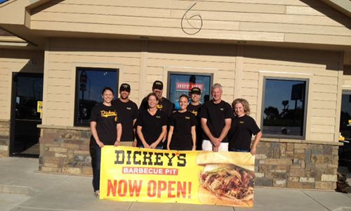 York Gets Fired Up For Barbecue with First Dickey's Barbecue Pit