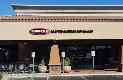 Burger 21 To Open Second Arizona Restaurant in Chandler on Nov. 3