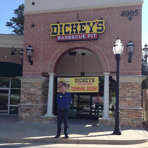 Man Takes Barbecue Hobby to the Big Leagues with New Dickey's Barbecue Pit