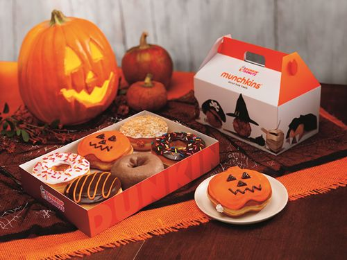 Dunkin' Donuts Scares Up A Seasonal Favorite: Boston Scream Donut Returns For Halloween