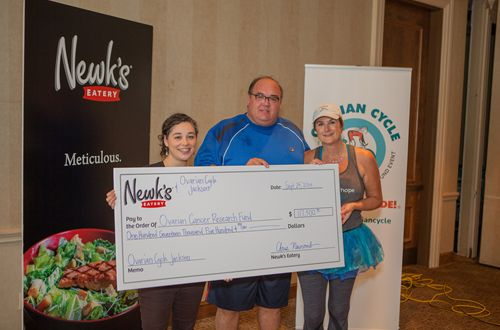 Inaugural Newk's Cares Campaign Raises Awareness and More than $100,000 for Research to Find a Cure for Ovarian Cancer