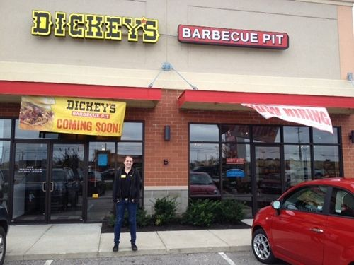 New Dickey's Barbecue Pit Hosts Texas Size Barbecue Party in Avon