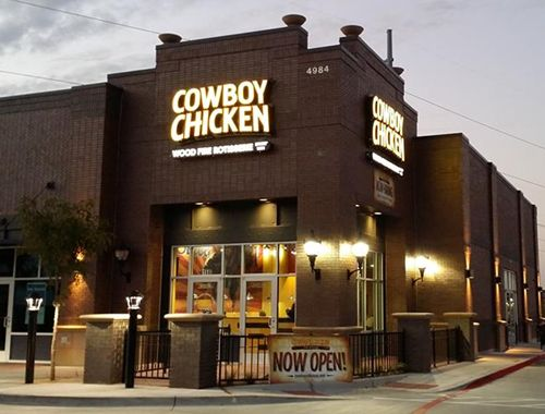 Cowboy Chicken Now Open in Frisco, Texas