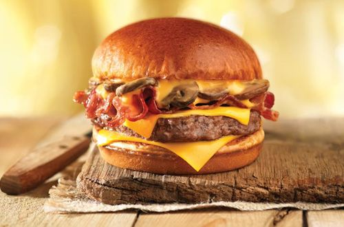 You've Earned It: Reward Yourself with Wendy's Bacon Portabella Melt on Brioche