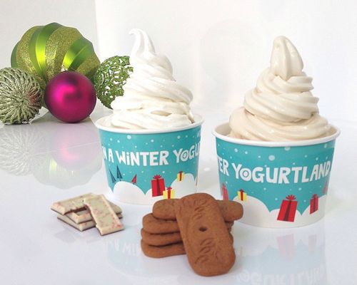 Yogurtland's Holiday Flavors Offer a Wonderland of Taste and Delight