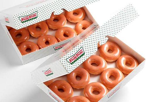 Celebrate the Day of the Dozens at Krispy Kreme