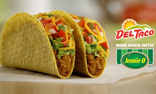 It's Time for a Better Taco: Del Taco and JENNIE-O Brand Teams Up on Delicious Turkey Items