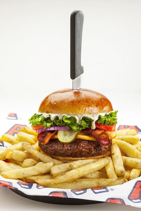 Arooga's Grille House & Sports Bar Kicks Resolutions to the Curb, Introduces Bacon Grind Burgers