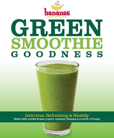 Bananas Restaurants Introduces Green Smoothie Goodness