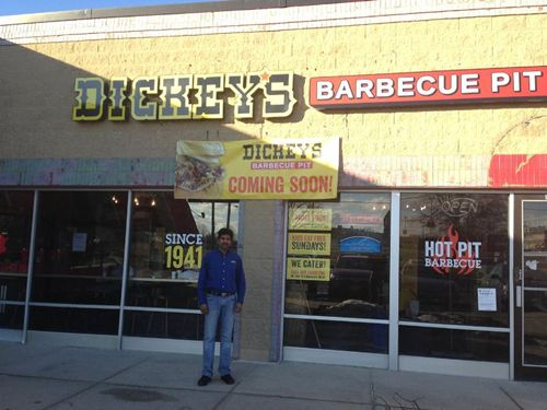Stay Warm with Smokin' Hot Dickey's Barbecue Pit Grand Opening in Downers Grove