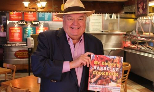 Mr. Dickey Stops by Dickey's Barbecue Pit in Laguna Niguel for Grand Opening