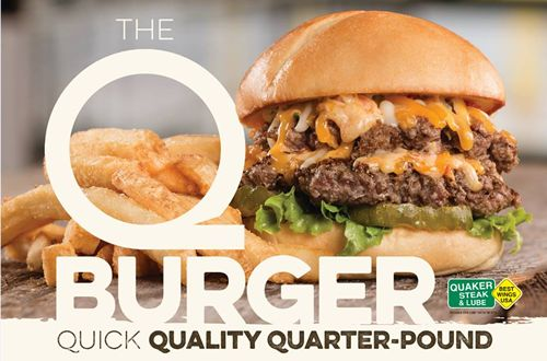 Quaker Steak & Lube Kicks Off The New Year With The QBurger
