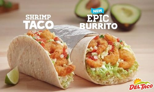 Del Taco Makes Waves With Return of Crispy Shrimp