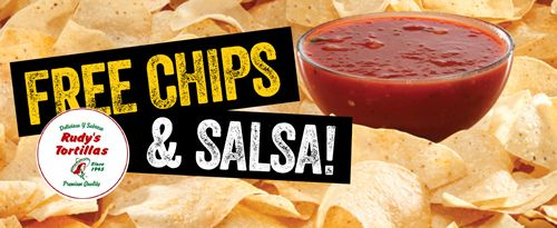 Salsarita's Fresh Cantina Celebrates National Tortilla Chip Day with Free Chips