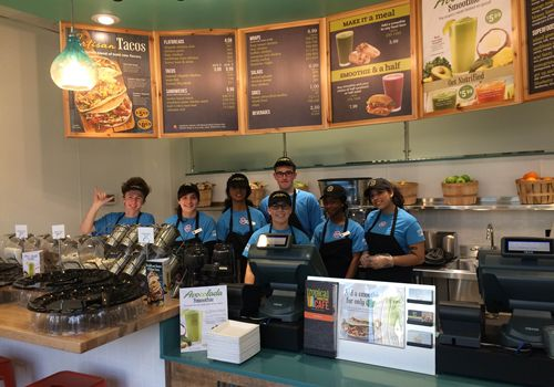 Local Small Business Owners Open First Tropical Smoothie Cafe In Seattle Market