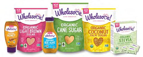 New Name, New Look: Wholesome Sweeteners Becomes Wholesome!