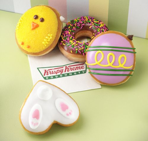 Celebrate the Sweetness of Spring at Krispy Kreme