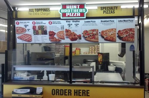 Hunt Brothers Pizza rules rural South from convenience stores