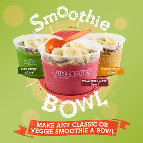Juice It Up! Introduces the Smoothie Bowl