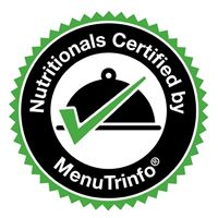 MenuTrinfo Provides Certified Nutritional Analysis, Proven with a Seal