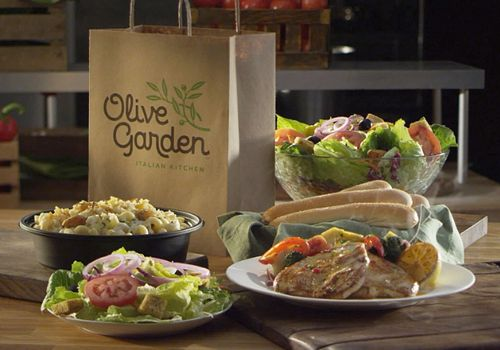 Olive Garden Offers Free Entrée with Buy One, Take One