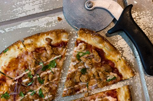 PizzaRev Introduces Sriracha Sausage Pizza