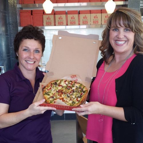 Rocklin's Blast 825 Pizza Donates $3,366 to the Placer SPCA