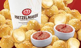 Pretzelmaker Launches New Mozzarella Stuffed Bites