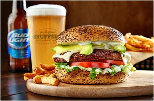 Snuffer's To Grill Up Avocado Ranch Burger as April's Monthly Special