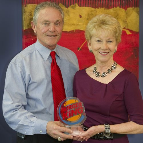 Barnett Management Wins Burger King Corporation Franchisee of the Year Award