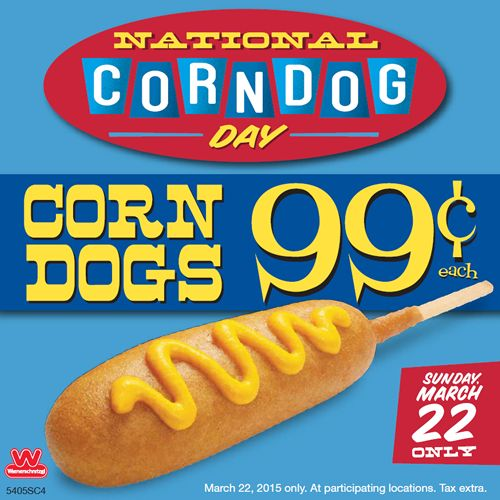 Wienerschnitzel Celebrates National Corn Dog Day