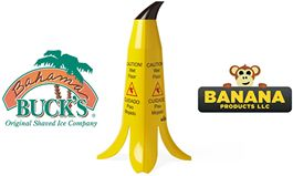 Bahama Buck's Improves Safety and Reduces Liability with New Banana Safety Cones