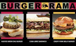 BurgerRama on Now at the Ram Restaurant