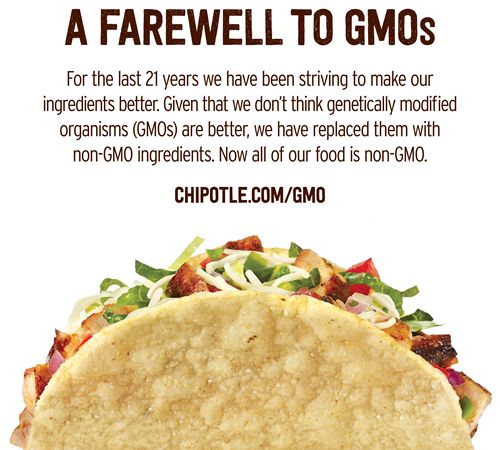 Chipotle Becomes the First National Restaurant Company to Use Only Non-GMO Ingredients