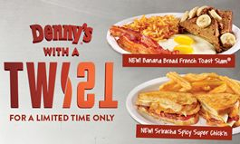 Denny's Puts a Sweet and Spicy Twist on Diner Favorites