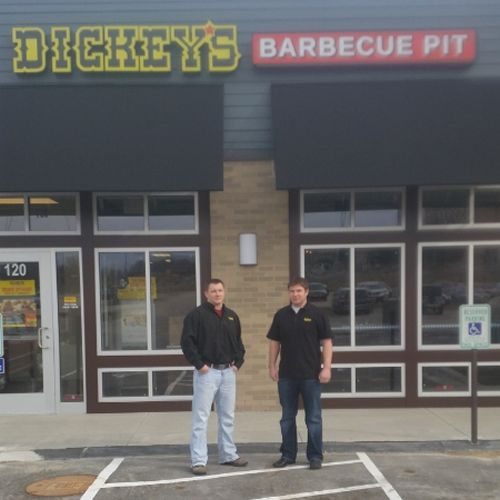 Brothers Bring Barbecue to Middleton with New Dickey's Barbecue Pit