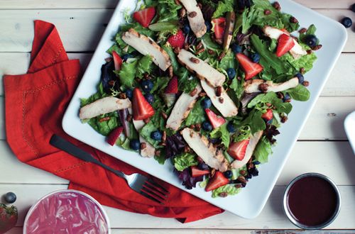 Spring Is Finally Here - and So Are McAlister's Deli Pecanberry Salad and Flavored Beverages