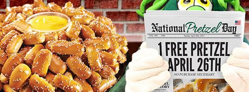philly pretzel factory celebrates national with free giveaway
