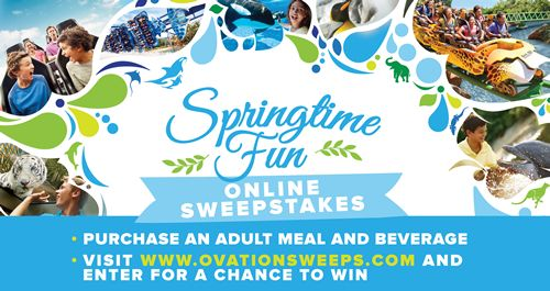 Ryan's, HomeTown Buffet and Old Country Buffet Launch the Springtime Fun - Buffet Sweepstakes on April 13