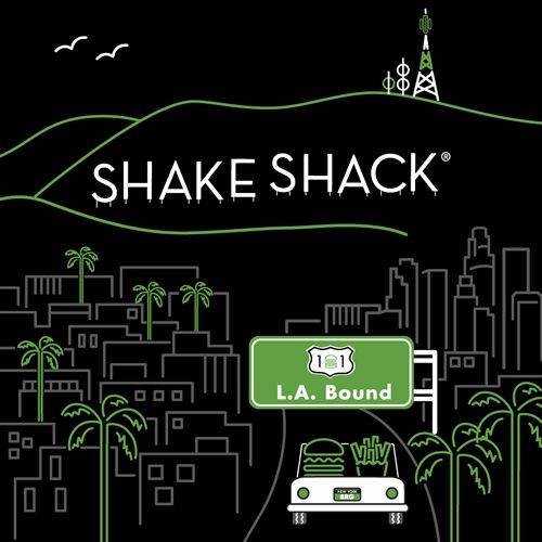 California Dreamin' … Shake Shack to Open First Location in Los Angeles in 2016
