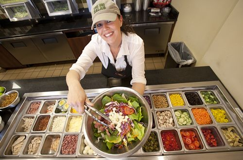 Hail to healthy eating! The Big Salad opens latest location at U-M's University Hospital Café