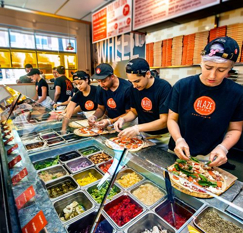 Blaze Fast-Fire'd Pizza Announces Grand Opening of Sixth Chicago Area Restaurant