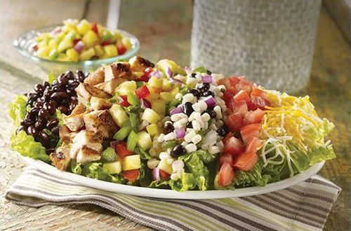 Salsarita's Fresh Cantina Brings Back Popular Mexican Chop Salad With Fresh Pineapple Salsa