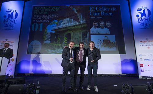 El Celler de Can Roca celebrates a return to the top of The World's 50 Best Restaurants