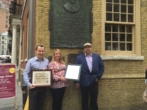 Fraunces Tavern, America's Most Historic Restaurant, Achieves FSM 22000 Certification