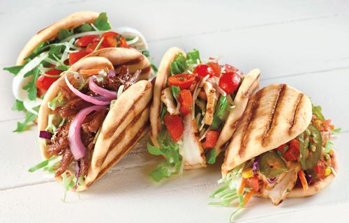 """Move Over Traditional Flatbreads: Corner Bakery Cafe Introduces """"UNFlat"""" Grilled Flats"""