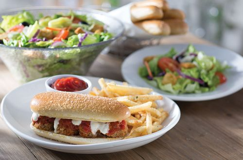 Olive Garden Breadstick Bun Sandwiches Make their Menu Debut