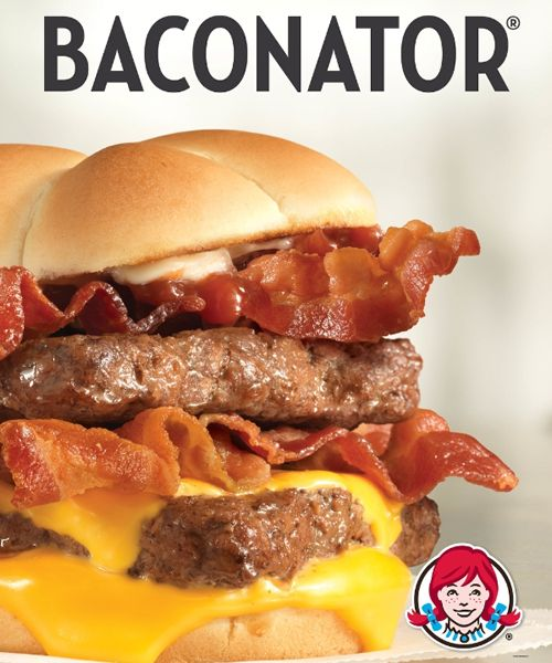 Respect the Bacon: Wendy's Baconator and new Baconator Fries
