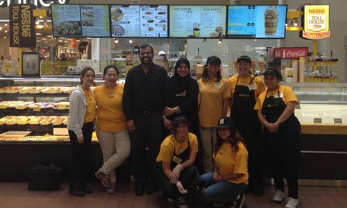 Nestlé Toll House Café by Chip Begins Baking with Love at Southland Mall